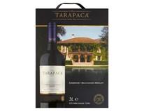 Tarapaca Cabernet Sauvignon Merlot víno červené 4x3L bag in box