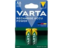Baterie Recharge Accu Power 2600mAh nabíjecí tužkové AA 2ks