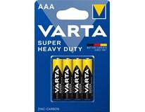 Baterie Varta Superlife mikro mikrotužkové AAA 4ks
