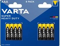 Tužkové baterie Varta Superlife AAA 8ks