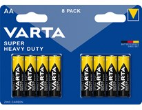 Baterie Varta Superlife tužkové AA 8ks