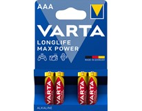 Baterie Varta Longlife Maxpower mikrotužkové AAA 4ks