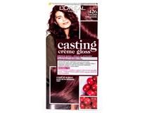 L'Oréal Paris Casting Creme Gloss 426 barva na vlasy červenofialová 1x1ks