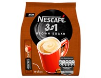 Nescafé 3v1 Brown Sugar (s třtinovým cukrem) 10x16,5g