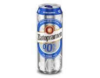 Zlatopramen nealko pivo nealkoholické 24x500ml plech
