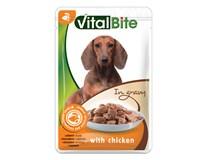 Vitalbite kapsičky pro psy kuřecí 28x85g