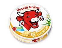 Veselá Kráva Tavený sýr s ementálem 1x120g