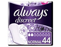 Always Discreet Inkontinenční Intimky Normal 1x44ks