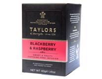 Taylors Blackberry&Raspberry Tea Ovocný čaj s ostružinou a malinou 1x40g (20 sáčků)