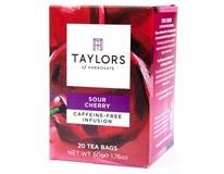 Taylors of Harrogate Tea Sour Cherry Infusion Ovocný čaj Kyselá višeň 1x50g (20 sáčků)