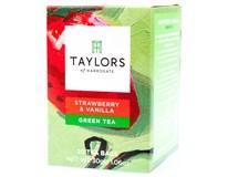 Taylors of Harrogate Tea Strawberry&Vanilla Zelený čaj Jahoda/ vanilka 1x30g (20 sáčků)
