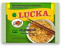 Lucka Polévka instantní nudlová zeleninová 1x60g