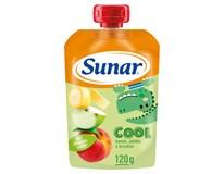 Sunárek Cool ovoce broskev, banán, jablko 1x120g