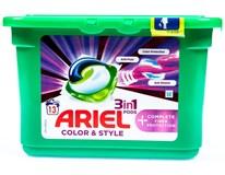 Ariel 3v1 Color&Style Complete+ Gelové kapsle na praní 1x13ks