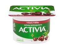 Danone Activia Jogurt višeň 24x120g
