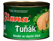 Giana Tuňák kousky ve vlastní šťávě 1x1,705kg