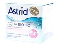 Astrid Aqua Biotic Krém suchá a citlivá pleť 1ks