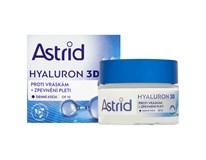 Astrid Hyaluron 3D denní krém proti vráskám OF 10 1x50ml