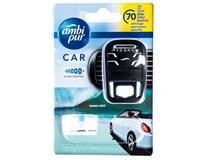 Ambi Pur Car3 Ocean Osvěžovač do auta strojek + náplň 1x7ml
