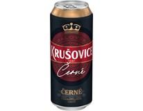 Krušovice černé pivo 4x500ml plech
