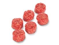 Hovězí miniburger 5cm IRL chlaz. 12x50g