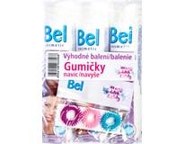 Bel Cosmetic Kosmetické tampónky 3x70ks + gumičky navíc
