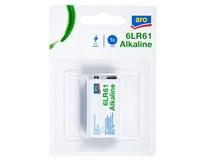 Baterie ARO 6LR61 Alkaline 9V 1ks