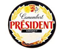 Président camembert ve dřevě krémový chlaz. 1x120g