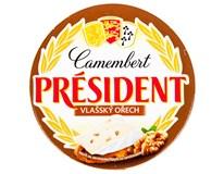 Président camembert s ořechy chlaz. 1x120g