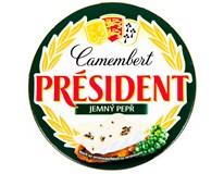 Président camembert ve dřevě s pepřem chlaz. 1x120g