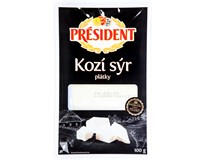 Président Kozí sýr plátky chlaz. 1x100g