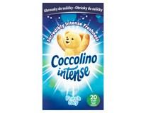 Coccolino Intense Fresh Sky ubrousky do sušičky 1x20ks