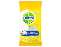 Dettol Antibakteriální ubrousky citron/ limeta 1x32ks