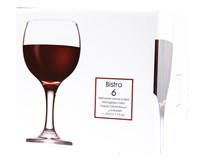 Sklenice Bistro na víno 225ml 6ks