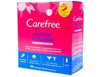 Carefree Cotton Flexiform slipové vložky Svěží vůně 1x56ks