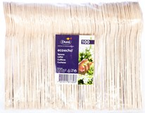 Lžíce Duni 16cm dřevěná 1x100ks