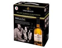 Víno Mikulov Müller Thurgau & Sauvignon jakostní odrůdové 1x3L BiB