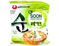 Nongshim Soon Veggie Ramyun Nudlová polévka 1x112g