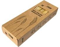 Brčka We-Straw z žitné slámy 1x50ks