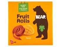 Bear Yoyo's Pure Fruit Mango ovocné rolované plátky 5x20g