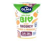 Olma Jogurt Bio Broskev/Mango chlaz. 1x150g