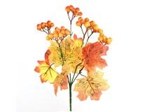 Vývazek z javorových listů a bobulí 1ks