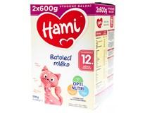 Hami Batolecí mléko OptiNutri 12+ 1x1200g (2x600g)