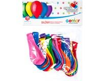 Balónek nafukovací 19cm mix barev 1x20ks