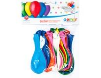 Balónek nafukovací 21cm mix barev 1x20ks