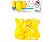 Balónek nafukovací 26cm žlutá 1x10ks