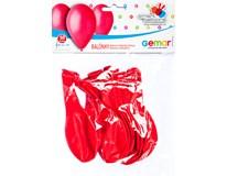 Balónek nafukovací 26cm červená 1x10ks
