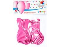 Balónek nafukovací 26cm růžová 1x10ks