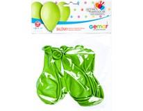 Balónek nafukovací 26cm sv. zelená 1x10ks