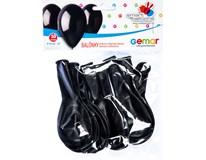 Balónek nafukovací 26cm černá 1x10ks